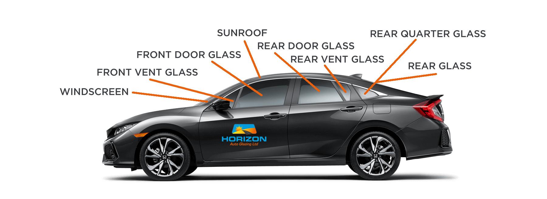 Horizon Auto Glazing Car Body Glass replacement
